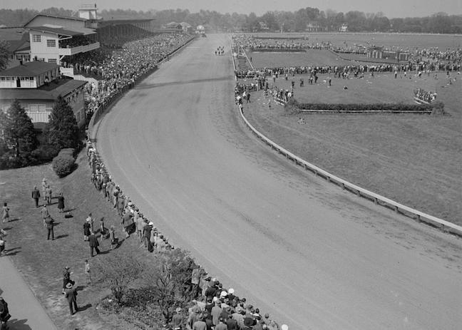 Pimlico Race Course in 1943