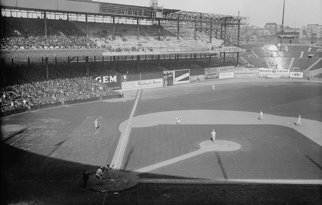 The Polo Grounds in 1923.