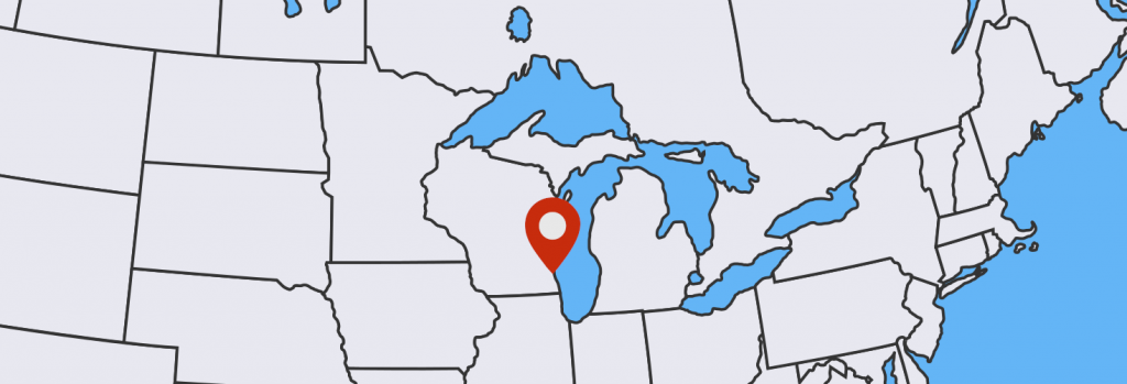 Milwuakee location map